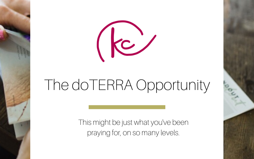 The doTERRA Opportunity