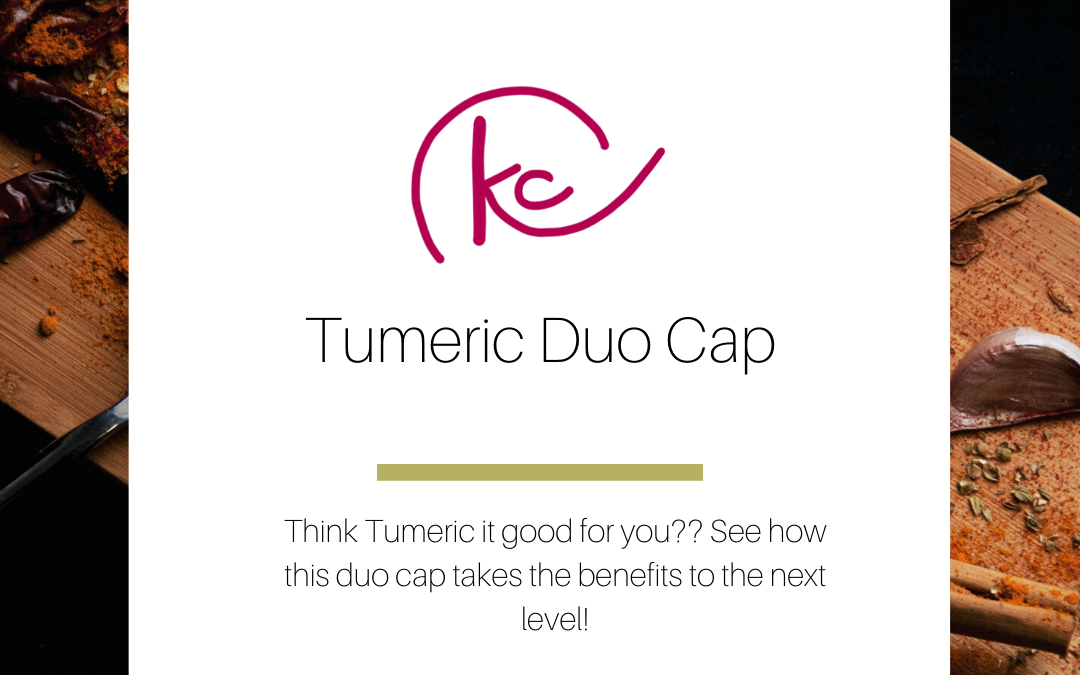 Tumeric Duo cap