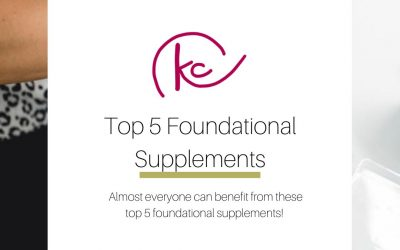 Top 5 foundational supplements
