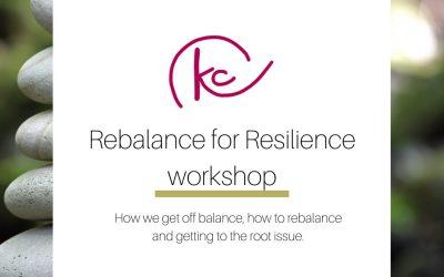 Rebalance for Resilience workshop